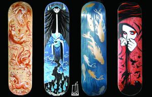 Skateboards Round 1 by Fatale16