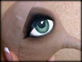 How to Paint Doll's Eyes - Tutorial by AnastasiasArts