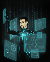Tony Stark - The Futurist by Brainiac6Techgirl