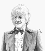 3rd Doctor by ThePeculiarMissE