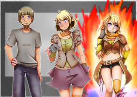 Girl # She blew up with a Yang! by Railgun04