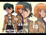 attack on pokeshipping by hikariangelove
