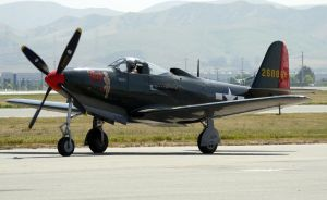Bell P-63 KingCobra Taxi by shelbs2