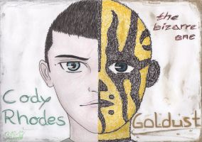 Rhodes Brothers by CelticFire7