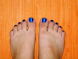 My Toes are Blue by TheCauseOf