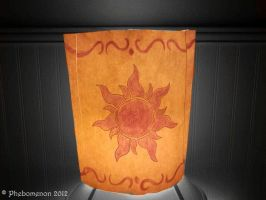 Tangled Lantern (Lamp Cover) by Phebomenon