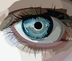 EYE VECTOR by willfat
