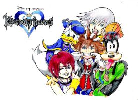 Kingdom Hearts1 by Darktaru