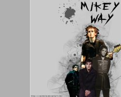 Mikey Way Wallpaper by x-michelle