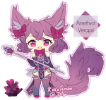 Amethyst Verapri Adopt [CLOSED] by KokoTensho