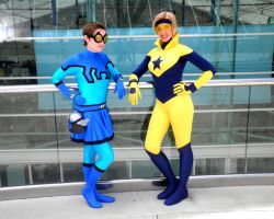 Blue and Gold 1 by Demyrie