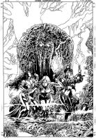 Witches 03 Cover Pencil by MikeDeodatoJr