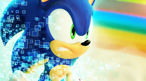Cyan Sonic at Tropical Resort by Xilosphere