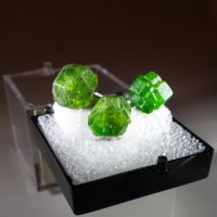Demantoid Garnet - Namibia, Madagascar and Iran by BlueLiquorice
