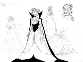 Mystico's Story - Kitty/White Queen concept - 1 by Zedela