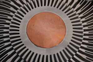 Optical Illusion Heat-Sink by Toderico