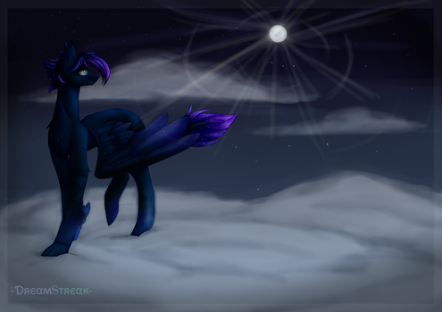 Moonlight Walk - Commission by Demisky