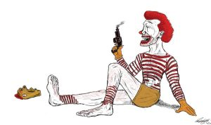 Ronald Mcdonald by Shukibaby