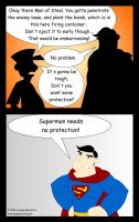 Man of Steel Indeed by LegendaryFrog