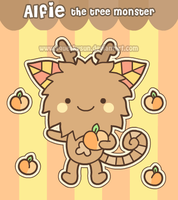 Alfie the tree monster by SqueakyToybox