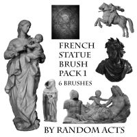 French Statues 1 by Random-Acts-Stock
