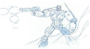 Optimus Prime by LeeFerguson