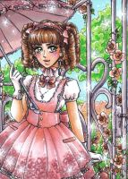 ACEO #32 Lolita by Toto-the-cat