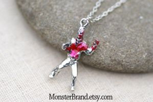Zombie Necklace by MonsterBrandCrafts