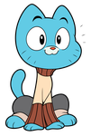 The Amazing World of Gumball - Happy Kitty by CalicoStonewolf