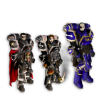 Warhammer 40.000 Power Armors by orcbruto
