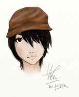 boy with hat by tomiklife