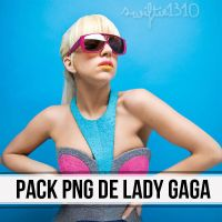 Pack PNG de Lady Gaga by Swiftie1310