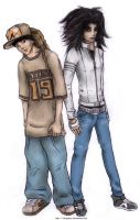 The Kaulitz Twins by ichigatsu