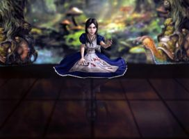 Alice Fairytale Gone Bad by Halli-well