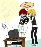 Happy Bitthday Matt by autumnlullaby