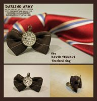 Timelord Ring - David Tennant - Darling Army by DarlingArmy