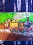 Stepney the A1X Terrier Engine (After) by FiremanHippie