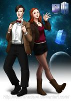 Doctor Who 50th Anniversary by IDarkShadowI