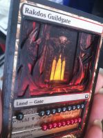 Rakdos Guildgate 3D Life Counter by Sylamander