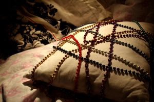 Pillow and Pearls. by PinkFuneral