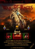 Lineage 2 War of Races MMO by Krycha182