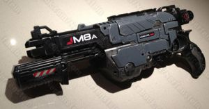 Mass Effect Nerf Praxis blaster gun by GirlyGamerAU