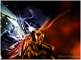 Electric Explosion by MadDesign