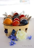 My self tainted easter eggs by annamnt
