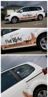 HOT RIDE vehicle graphics by Nordfern