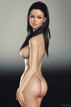 Brooke Profile Standing Pose 1 by sereph665