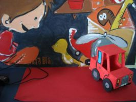 Red Car by PequenosArtistas