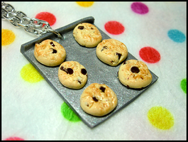 Cookie Tray Necklace by GrandmaThunderpants