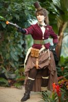 Steampunk Shoot 8 by LadyduLac