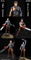 GI Joe Scale Ash Williams by Jin-Saotome